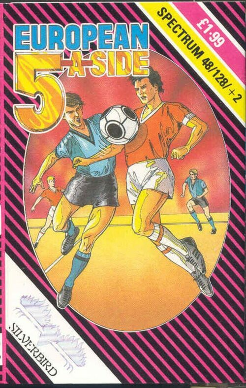 Cover for European 5-a-Side.