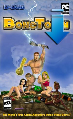Cover for BoneTown.