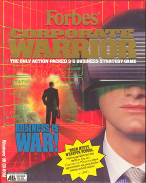 Cover for Forbes Corporate Warrior.
