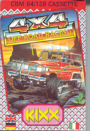 Cover for 4x4 Off-Road Racing.