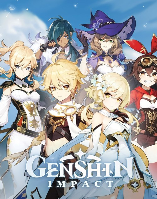 Cover for Genshin Impact.