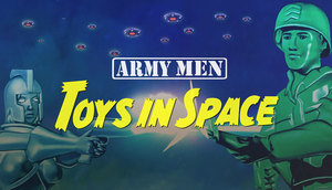Cover for Army Men: Toys in Space.