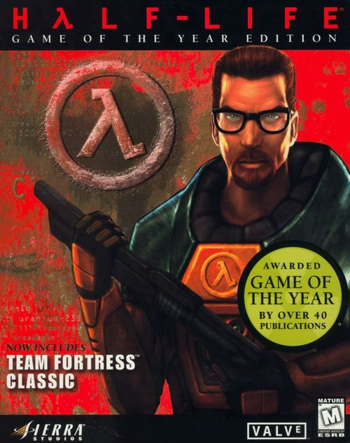 Cover for Half-Life.