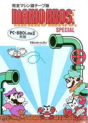 Cover for Mario Bros. Special.