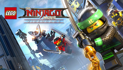 Cover for The Lego Ninjago Movie Video Game.