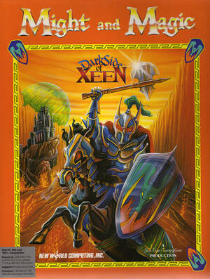 Cover for Might and Magic V: Darkside of Xeen.