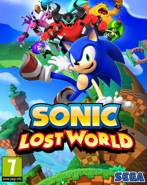 Cover for Sonic Lost World.
