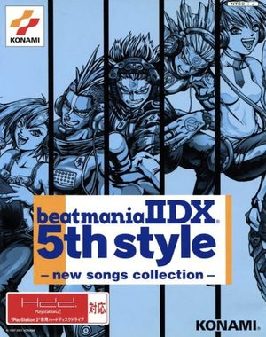 Cover for Beatmania IIDX 5th Style.