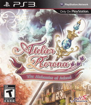 Cover for Atelier Rorona: The Alchemist of Arland.