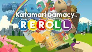 Cover for Katamari Damacy REROLL.