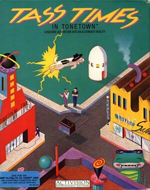 Cover for Tass Times in Tonetown.