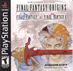 Cover for Final Fantasy Origins.