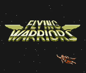 Cover for Flying Warriors.