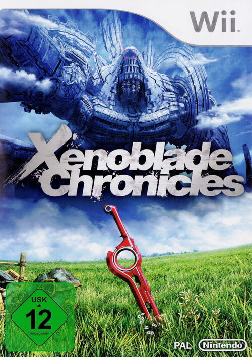 Cover for Xenoblade Chronicles.