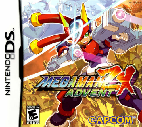 Cover for Mega Man ZX Advent.