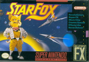 Cover for Star Fox.