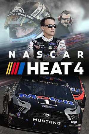 Cover for NASCAR Heat 4.