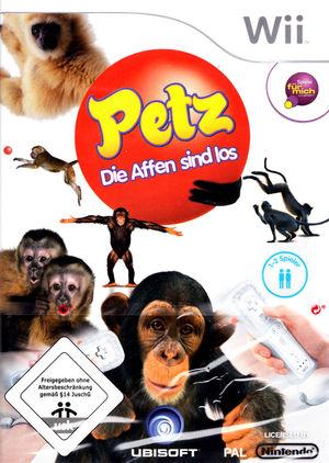 Cover for Petz: Crazy Monkeyz.