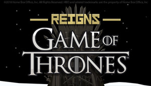 Cover for Reigns: Game of Thrones.