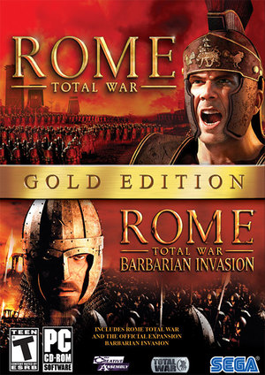 Cover for Rome: Total War.
