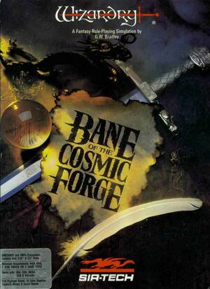Cover for Wizardry VI: Bane of the Cosmic Forge.