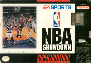 Cover for NBA Showdown.