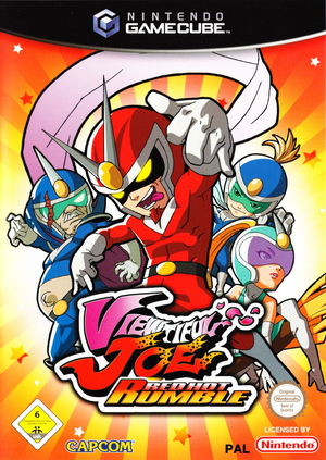 Cover for Viewtiful Joe: Red Hot Rumble.