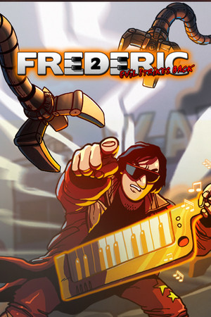 Cover for Frederic: Evil Strikes Back.