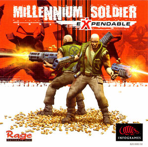 Cover for Millennium Soldier: Expendable.