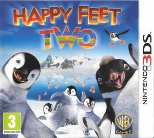 Cover for Happy Feet Two: The Videogame.