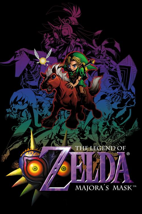 Cover for The Legend of Zelda: Majora's Mask.