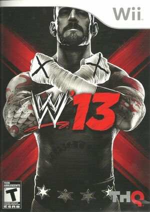 Cover for WWE '13.