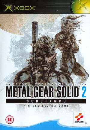 Cover for Metal Gear Solid 2: Substance.