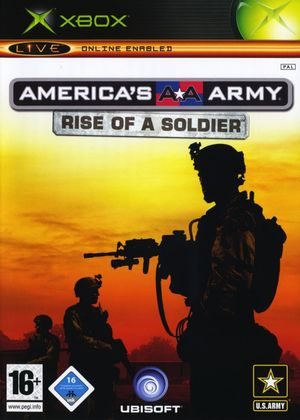 Cover for America's Army: Rise of a Soldier.