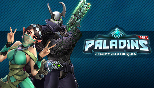 Cover for Paladins: Champions of the realm.