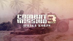 Cover for Combat Mission: Afrika Korps.