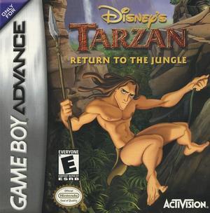 Cover for Disney's Tarzan: Return to the Jungle.