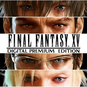 Cover for Final Fantasy XV.