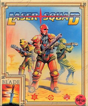Cover for Laser Squad.