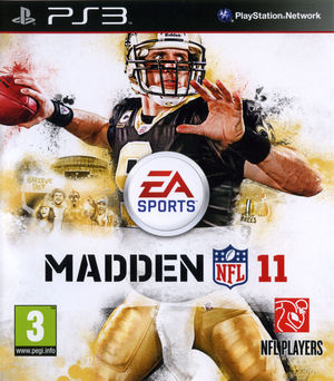 Cover for Madden NFL 11.