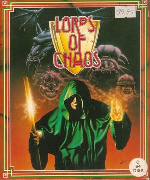 Cover for Lords of Chaos.
