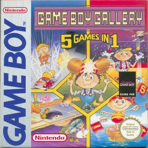 Cover for Game Boy Gallery.