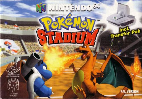 Cover for Pokémon Stadium.