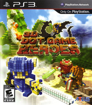 Cover for 3D Dot Game Heroes.
