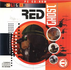 Cover for Red Ghost.