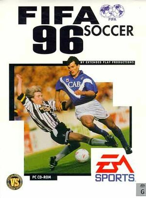 Cover for FIFA Soccer 96.