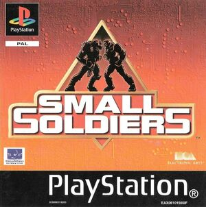Cover for Small Soldiers.