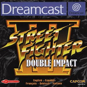 Cover for Street Fighter III.