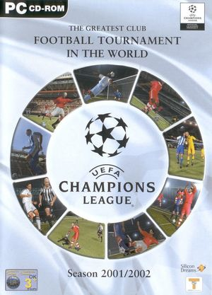 Cover for UEFA Champions League Season 2001/2002.