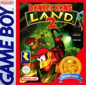 Cover for Donkey Kong Land 2.